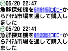 魚群探知機×2購入